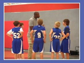 Basketball Coaching Expert Charlie Miller coaches Youth